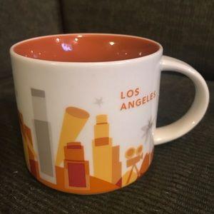 Starbucks LOS ANGELES You Are Here Mug 2013